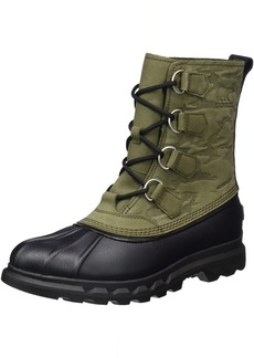 SOREL Men's Portzman Classic Camo Snow Boot nori Black