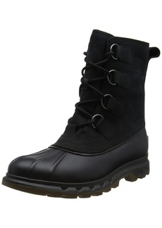 SOREL Men's Portzman Classic Snow Boot Black