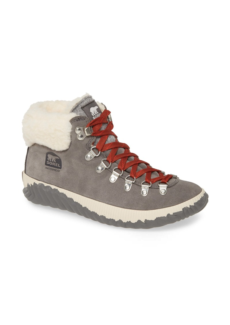 SOREL Out 'N About™ Conquest Waterproof Bootie with Faux Fur Trim (Women)