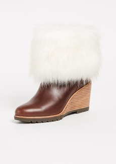 Sorel Park City Short Wedge Booties