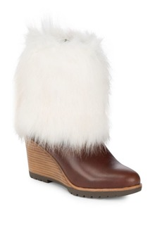 Sorel Parkcity Faux Fur Leather Boots