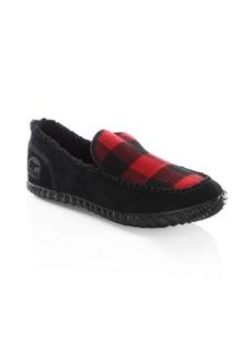 Sorel Plaid Slip-On Sneakers