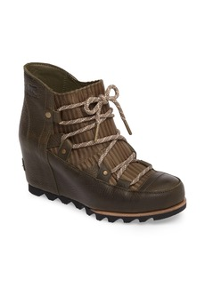 SOREL Sandy Waterproof Wedge Bootie (Women)