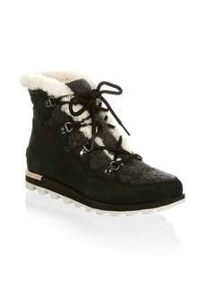 Sorel Sneak Chic Leather Booties