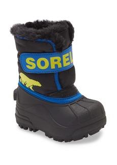 SOREL Snow Commander Insulated Waterproof Boot (Baby & Walker)