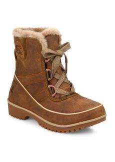 Sorel Tivoli II Premium Leather & Faux Fur Boots