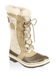 Sorel Tivolli III Faux Fur and Leather Boots