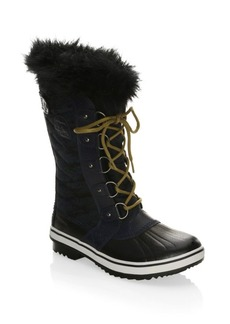 Tofino Canvas and Faux Fur Boots
