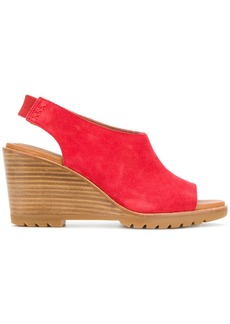 Sorel wedged sandals - Red