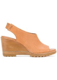 Sorel wedged sandals - Yellow & Orange