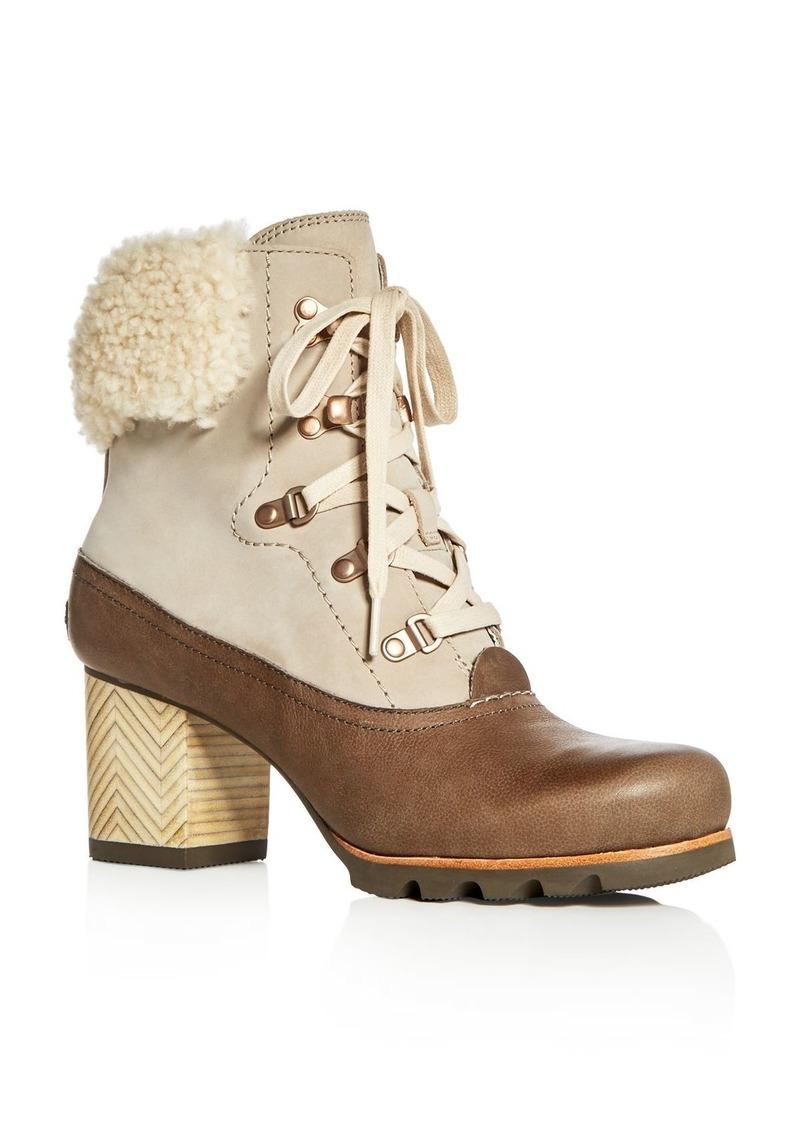 Sorel Sorel Women s Jayne Lux Waterproof Leather 086f85530