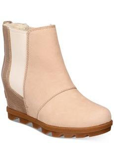 Sorel Women's Joan Of Arctic Wedge Ii Chelsea Lux Booties Women's Shoes