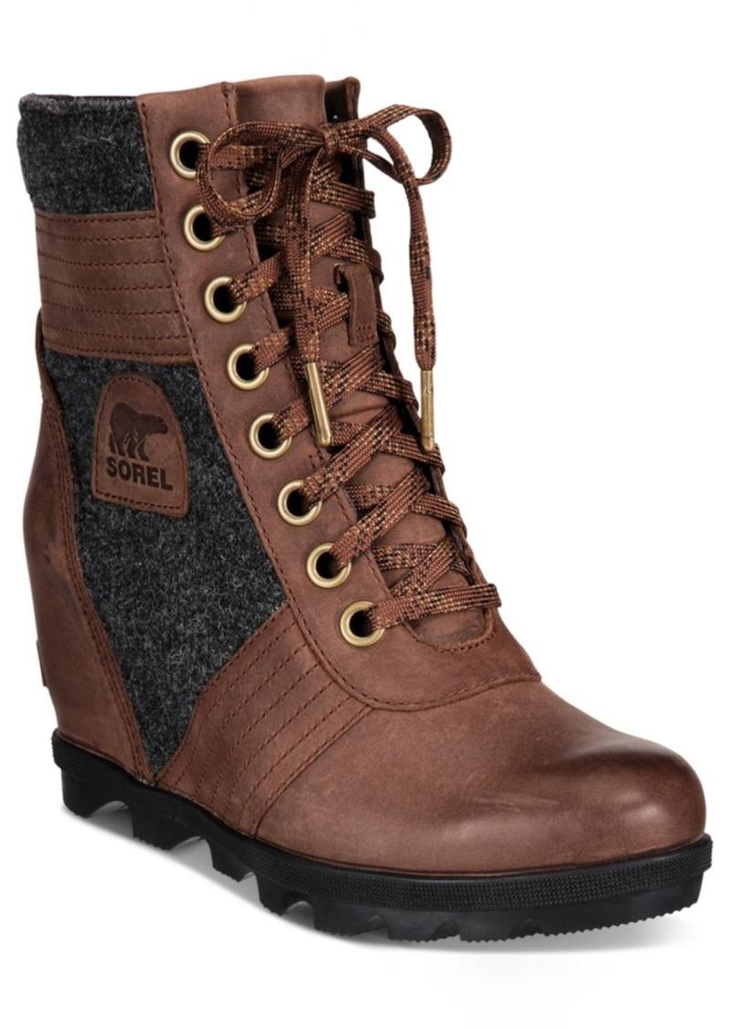 Sorel Women's Lexie Wedge Booties Women's Shoes