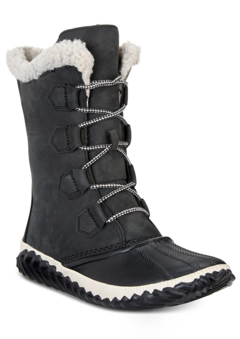 Sorel Women's Out N About Plus Waterproof Boots Women's Shoes