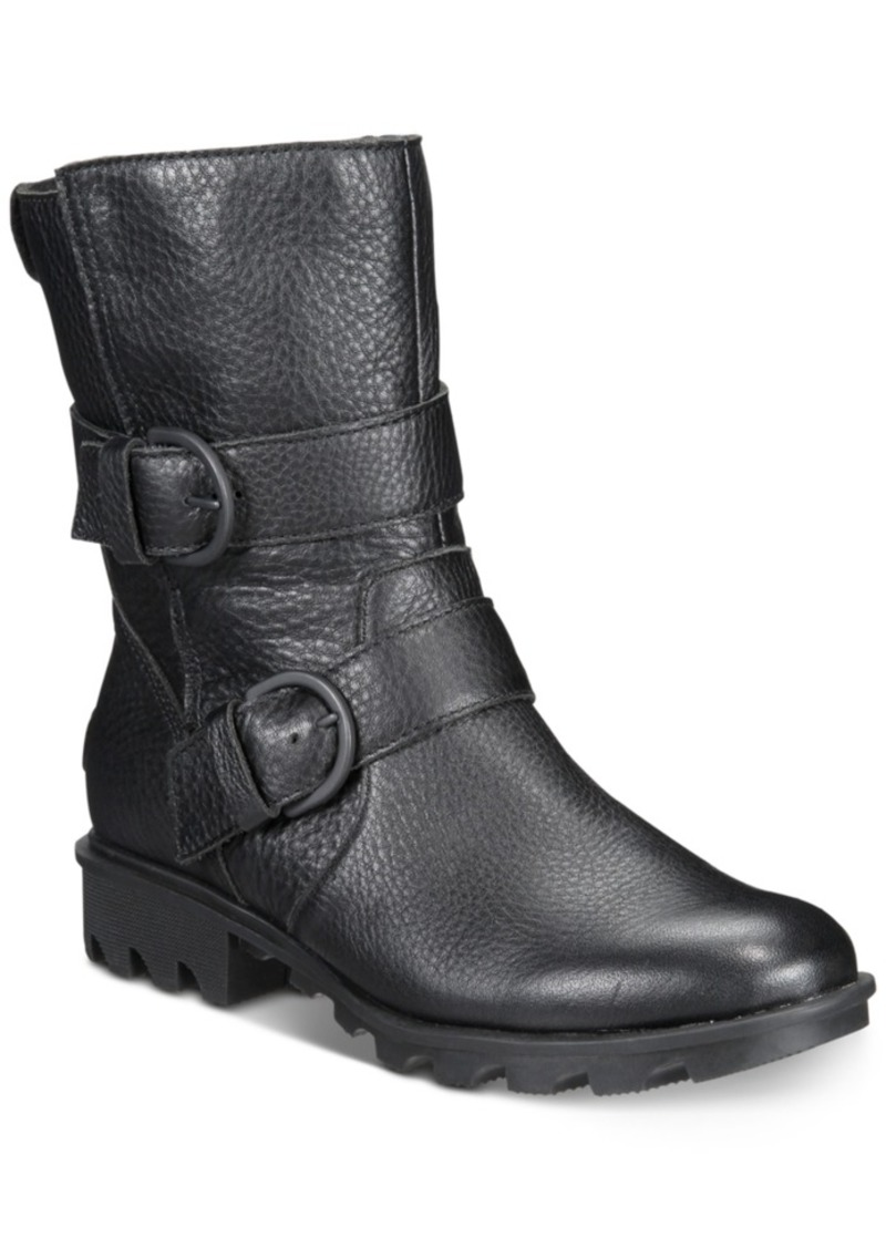 Sorel Women's Phoenix Moto Boots Women's Shoes