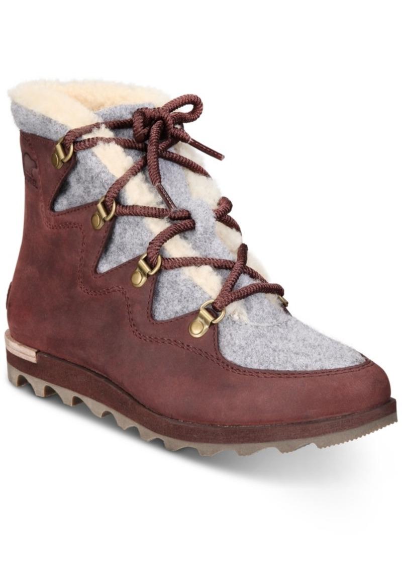 Sorel Women's Sneakchic Alpine Booties Women's Shoes