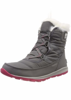 SOREL Women's Whitney Short Lace Snow Boot   M US