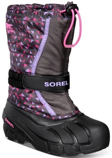 Sorel Youth Girls Flurry Print Boots Women's Shoes