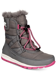 Sorel Youth Girls Whitney Short Lace Boots Women's Shoes