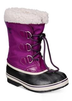 Sorel Youth Girls Yoot Pac Nylon Boots Women's Shoes