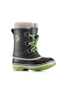 Sorel Toddler's & Kid's Yoot Pac Faux Fur-Cuff Leather Snow Boots