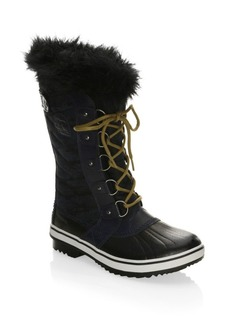 Sorel Tofino Canvas and Faux Fur Boots
