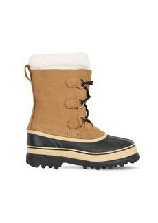 Sorel Waterproof Coated Leather Boots
