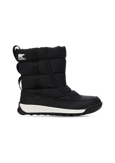 Sorel Waterproof Nylon Snow Boots