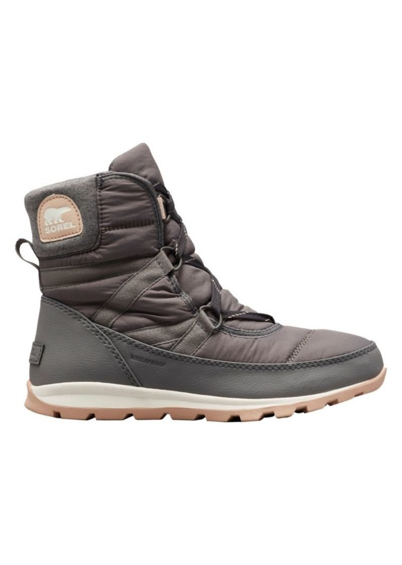 Sorel Whitney Short Lace Nylon Waterproof Boots
