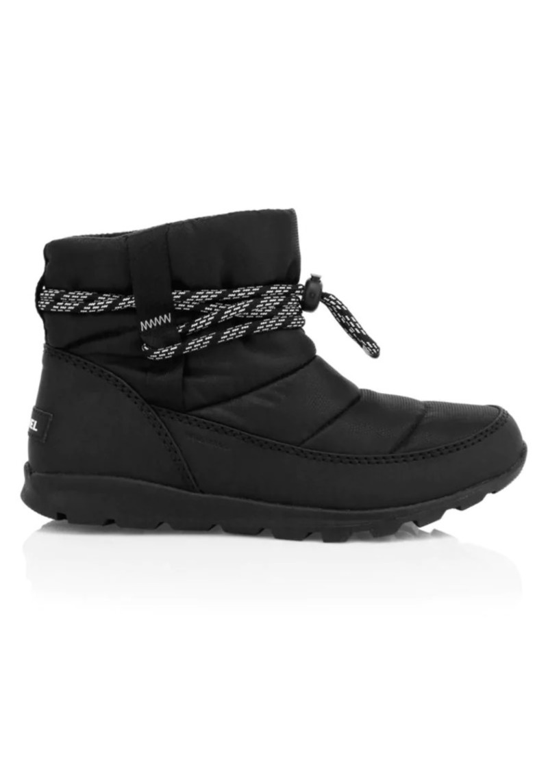 Sorel Whitney Short-Lace Waterproof Booties