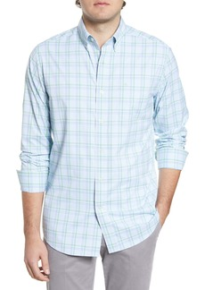 Southern Tide Abound Plaid Regular Fit Button-Up Performance Shirt