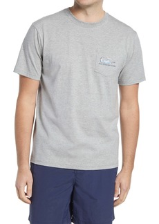 Southern Tide Boat in a Bottle Pocket Graphic Tee