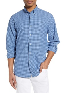 Southern Tide Channel Marker Gingham Button-Down Shirt