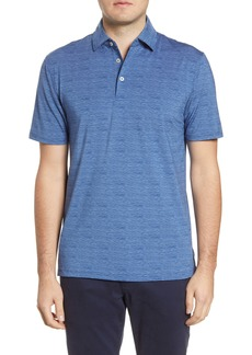 Southern Tide Driver Wave Regular Fit Print Polo