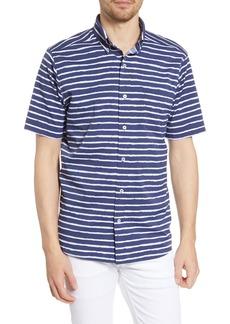 Southern Tide Pier Stripe Intercoastal Regular Fit Button-Up Shirt