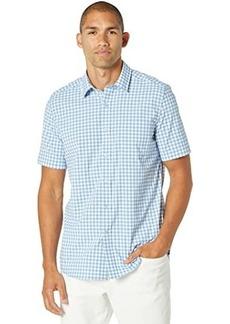 Southern Tide Tropical Mist Gingham Intercoastal Short Sleeve Sport Shirt