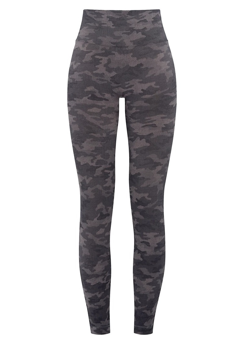 Spanx Look At Me Now Seamless Camo Legging
