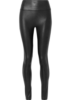 Spanx Faux Stretch-leather Leggings
