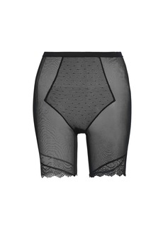 Spanx Mid-Thigh Lace Shorts