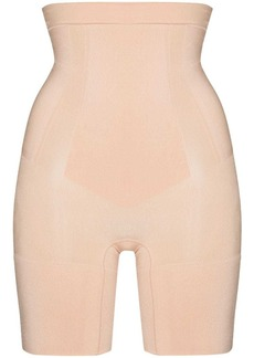 Spanx OnCore high-waisted mid-thigh shorts