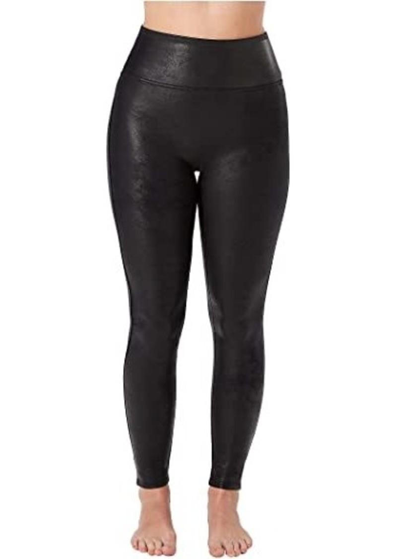 Spanx Petite Faux Leather Leggings