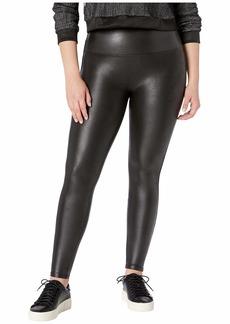 Spanx Plus Size Faux Leather Petite Leggings