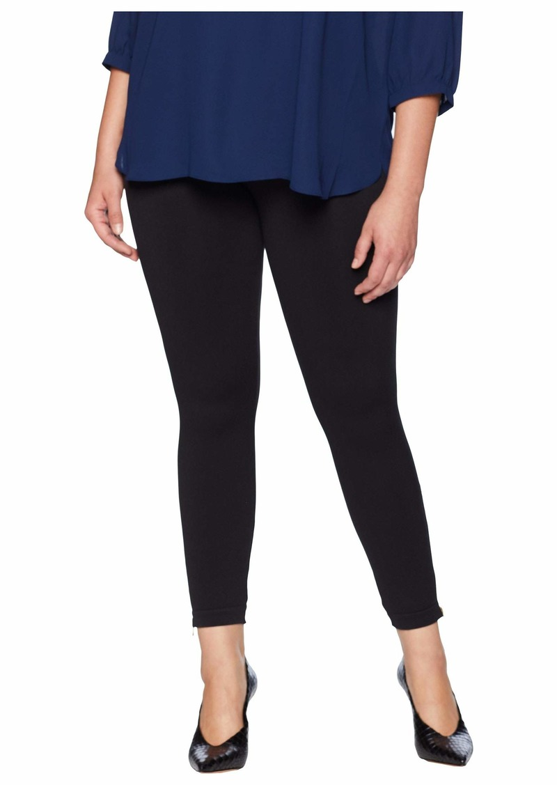 6ef719f1cb8 On Sale today! Spanx Plus Size Look at Me Now Seamless Side Zip Leggings