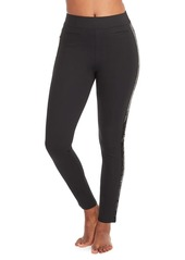 Spanx The Perfect Ankle Sequin Tuxedo Skinny Pants
