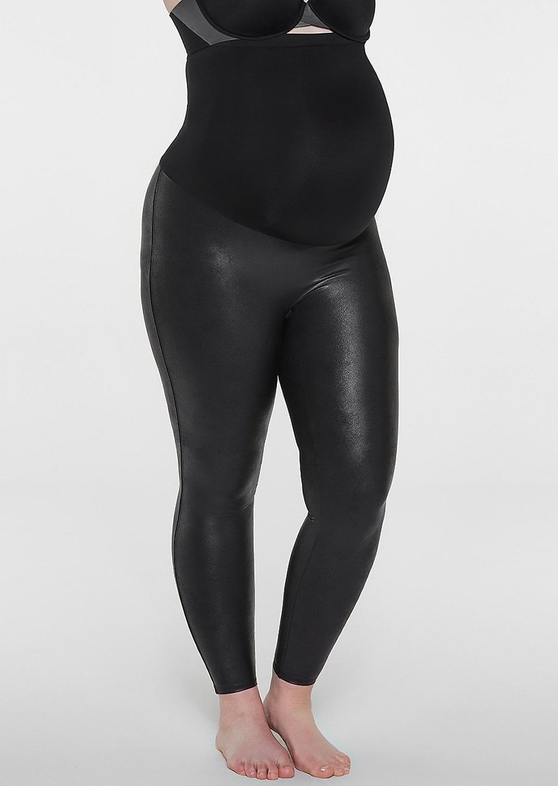 856c350855373 Spanx SPANX + Plus Size Faux Leather Mama Leggings | Casual Pants