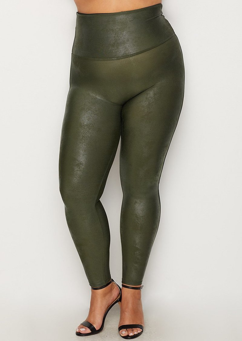 a2475436a2d Spanx SPANX + Plus Size Ready-to-Wow Faux Leather Leggings