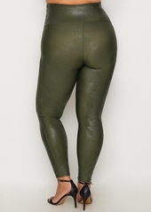 1ef973f1a53 ... SPANX + Plus Size Ready-to-Wow Faux Leather Leggings ...