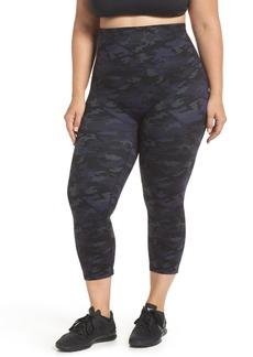 SPANX® Active Print Crop Leggings (Plus Size)