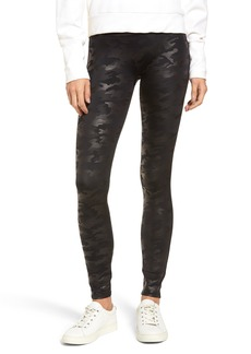 SPANX® Camo Faux Leather Leggings