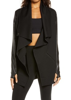 SPANX® Faux Leather Convertible Jacket